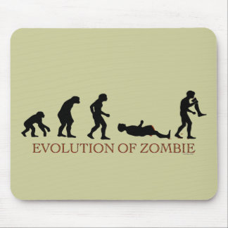 Evolution of Zombie Mouse Pad