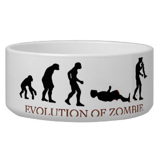 Evolution of Zombie Dog Water Bowls