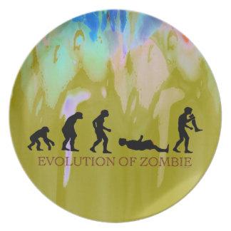 Evolution of Zombie Dinner Plates