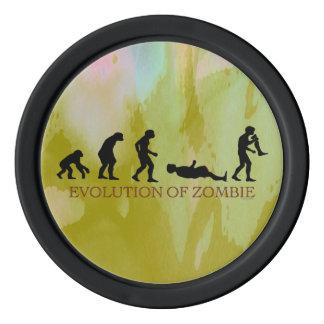 Evolution of Zombie Poker Chip Set