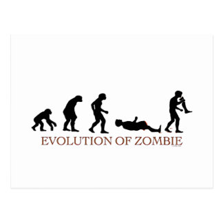 Evolution of Zombie Postcard