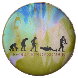 Evolution of Zombie Chocolate Dipped Oreo