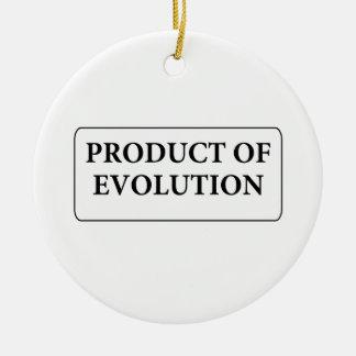 evolution christmas tree ornaments