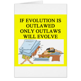 evolution outlaw card
