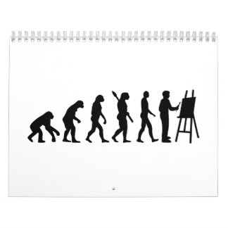 Evolution Painter Calendar