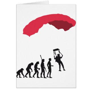 evolution Parachute Card