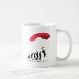 evolution Parachute Coffee Mug