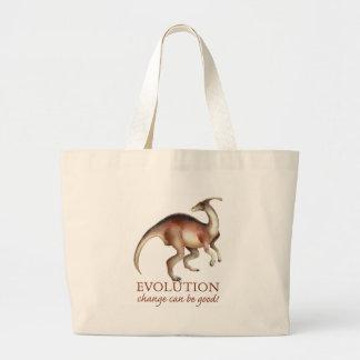 Evolution parasaurolophus bags