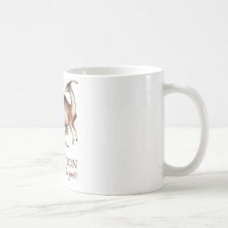 Evolution parasaurolophus coffee mug
