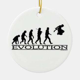 Evolution Parkour Ceramic Ornament