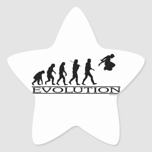 Evolution Parkour Star Sticker