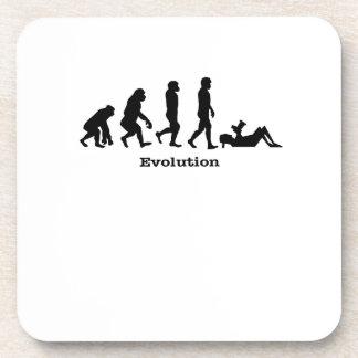 Evolution Photographer  Shutter Gift Photography Coaster