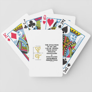Evolution Phyletic Gradualism Punctuated Equilibrm Bicycle Playing Cards