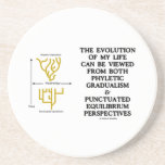 Evolution Phyletic Gradualism Punctuated Equilibrm Drink Coaster