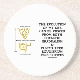 Evolution Phyletic Gradualism Punctuated Equilibrm Beverage Coasters