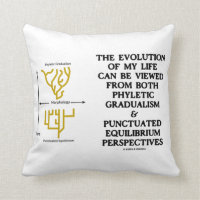 Evolution Phyletic Gradualism Punctuated Equilibrm Pillow
