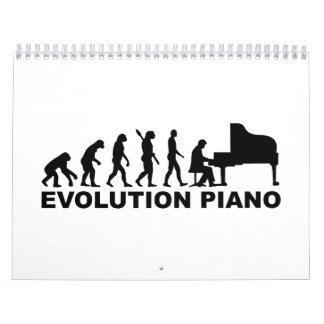Evolution Piano Calendar