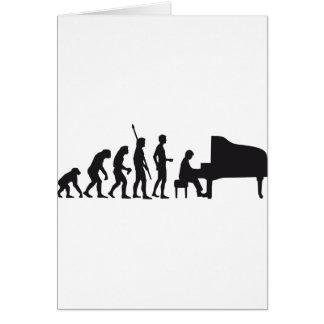 evolution piano card