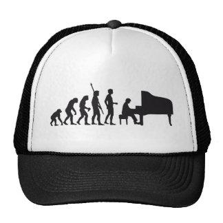 evolution piano gorros bordados