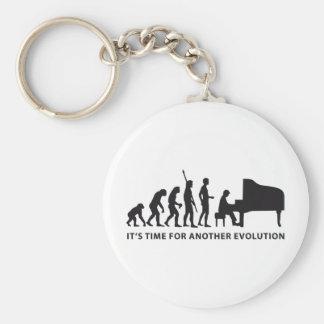 evolution piano keychain