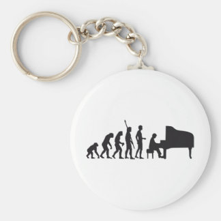 evolution piano keychain