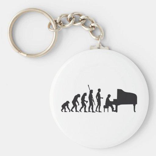evolution piano keychains