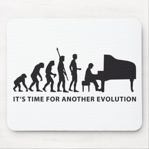 evolution piano mousepad