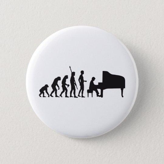 evolution piano pinback button