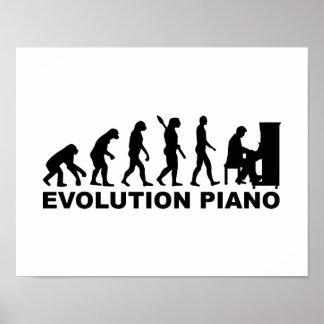Evolution Piano Poster
