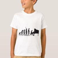 evolution piano T-Shirt
