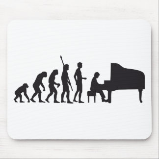evolution piano mouse pad