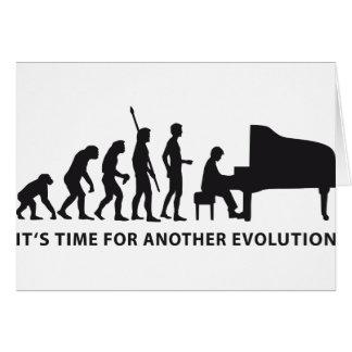 evolution piano felicitacion
