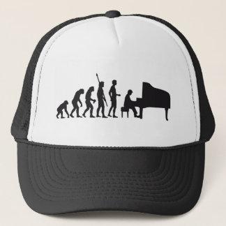 evolution piano trucker hat