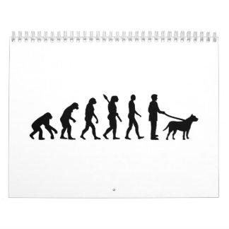 Evolution Pit bull Calendar