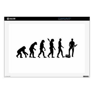 "Evolution Plumber Decal For 17"" Laptop"