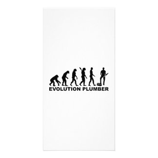 Evolution Plumber Picture Card