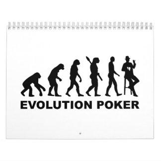 Evolution Poker Calendar