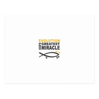 Evolution Post Card