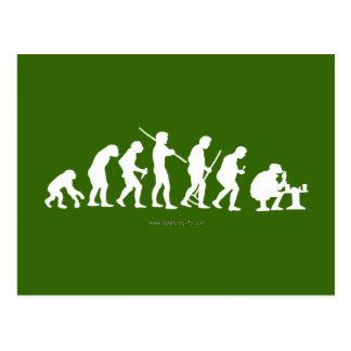 Evolution... Postcard