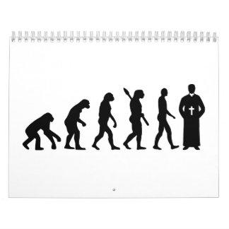 Evolution Priest Calendar