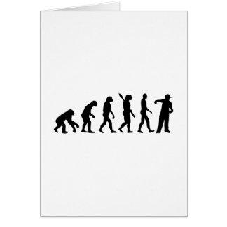 Evolution Rapper singer Greeting Card
