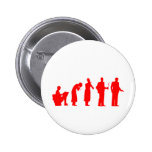 evolution red pinback buttons