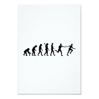 Evolution Relay race Card