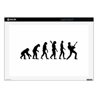 "Evolution Rock musician star 17"" Laptop Skin"