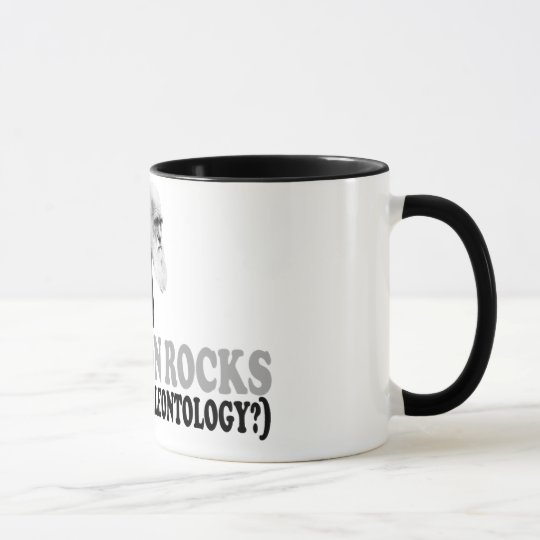 Evolution rocks mug