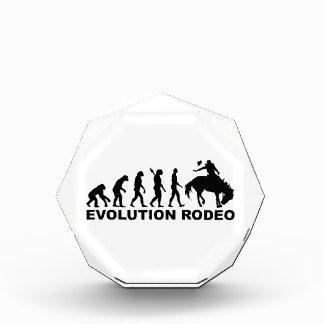 Evolution rodeo acrylic award
