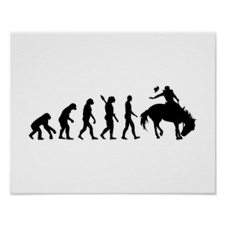 Evolution rodeo poster