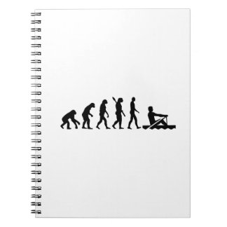 Evolution rowing notebook