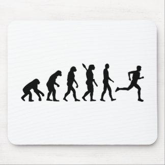 Evolution running marathon mouse pad