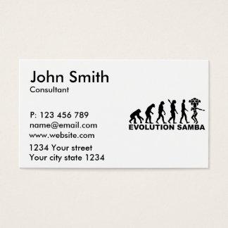 Evolution Samba Business Card